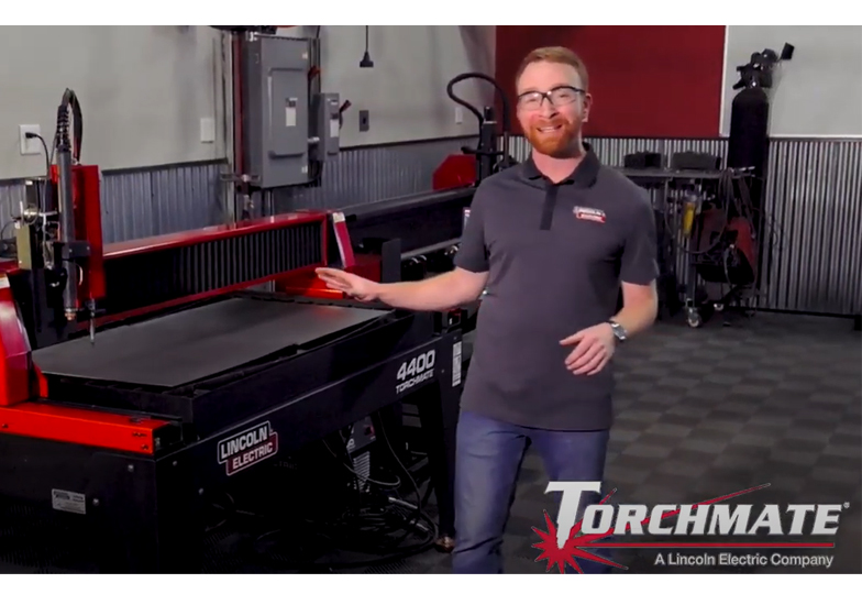 Video Torchmate 4400 and 4800