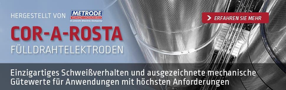 COR-A-ROSTA Fülldrahtelektroden