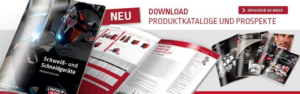 Download Produktkataloge und Prospekte