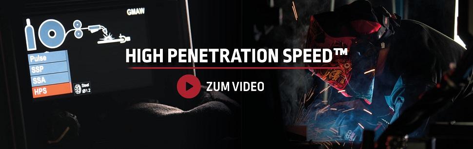 High Penetration Speed video
