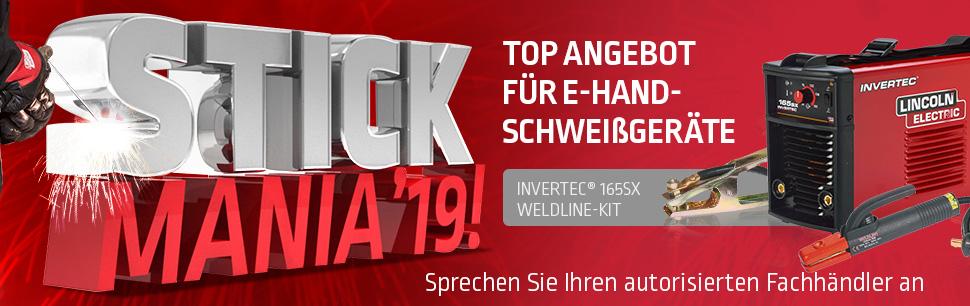 Stickmania'19 Top Angebot für E-Hand-Schweißgeräte