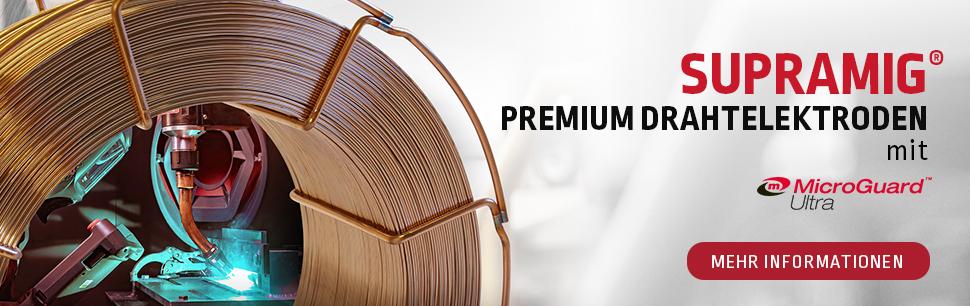 SUPRAMIG Premium MIG Wires with MicroGuard Ultra