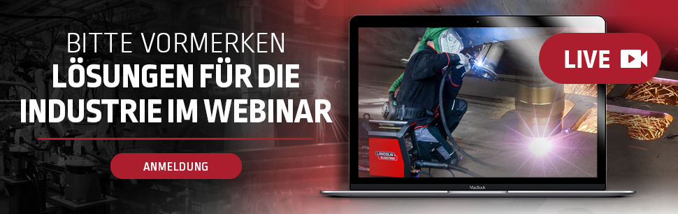 Industry solutions webinars by Lincoln Electric