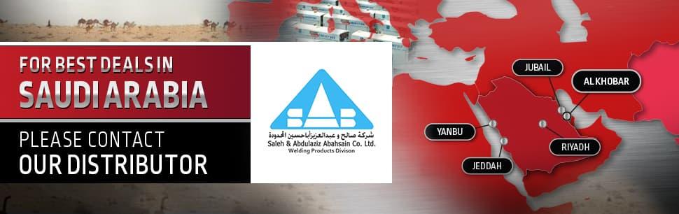 Lincoln Electric distributor in Saudi Arabia