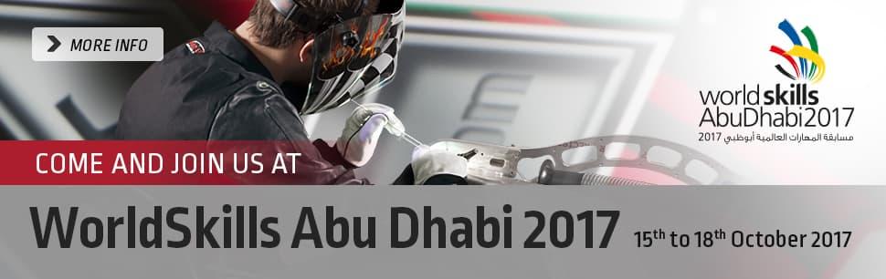Lincoln Electric at WorldSkills Abu Dhabi 2017