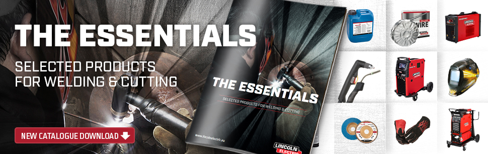 The Essentials Catalogue from Lincoln Electric
