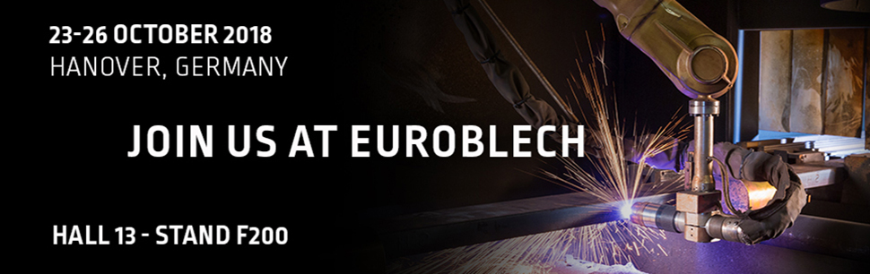 Join us at Euroblech 2018