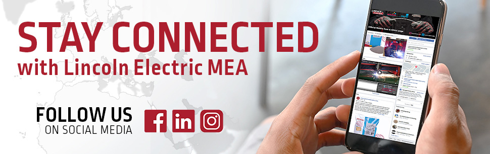 Lincoln Electric MEA on social media