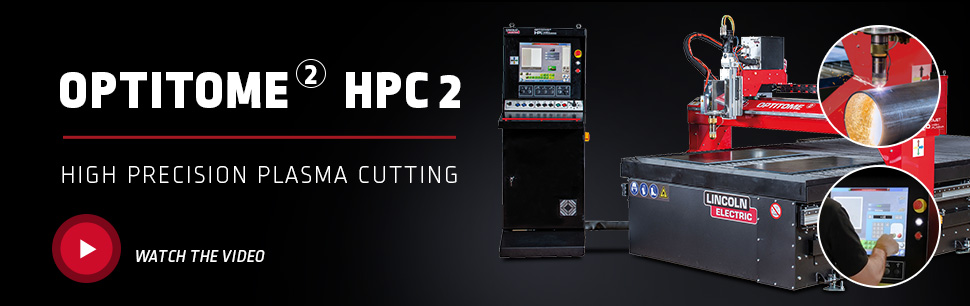 OPTITOME 2 HPC 2 High Precision Plasma Cutting