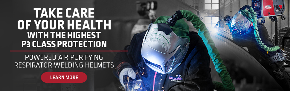 Take care of your health: Powered Air Purifying Respirator Welding Helmets