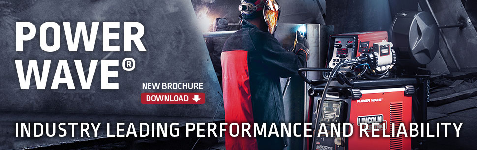 Power Wave®: multi-process solution engineered for maximum welding productivity