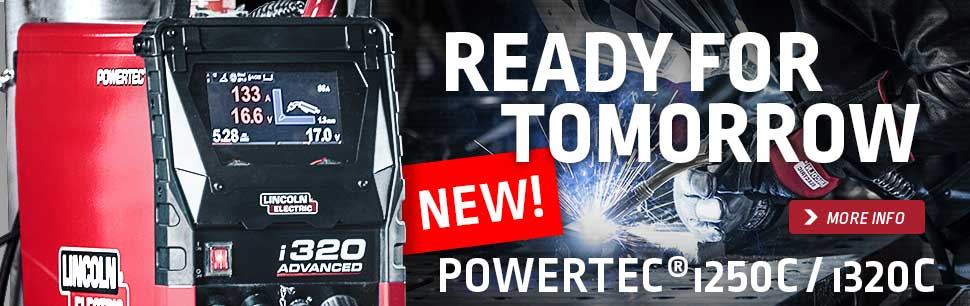 Powertec i: new inverter based compact welders for MIG/MAG and MMA welding