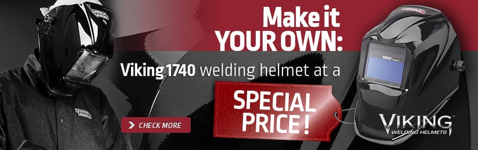 Sales promotion Viking 1740 welding helmet