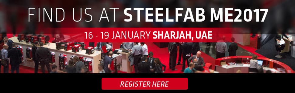 Lincoln Electric at Steel Fab 2017