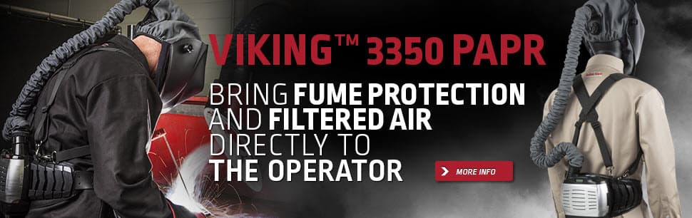 Viking 3350 Powered Air Purifying Respirator Welding Helmet