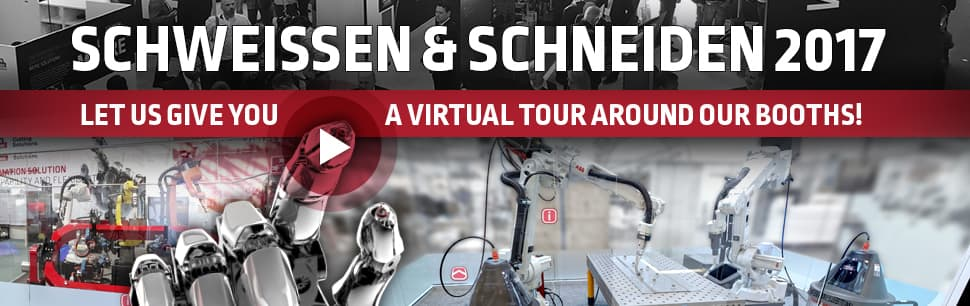 Let us give you a virtual tour around our booths at Schweissen & Schneiden 2017