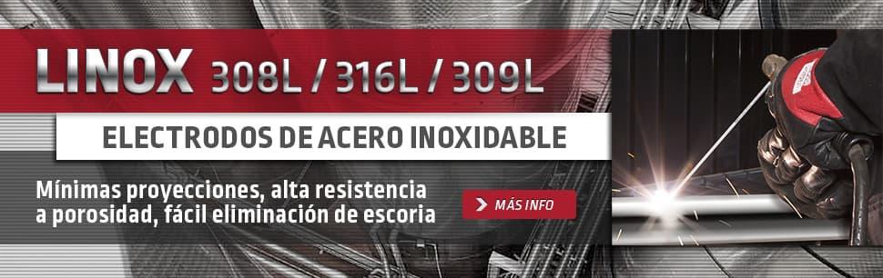 Linox Electrodos de Acero Inoxidable