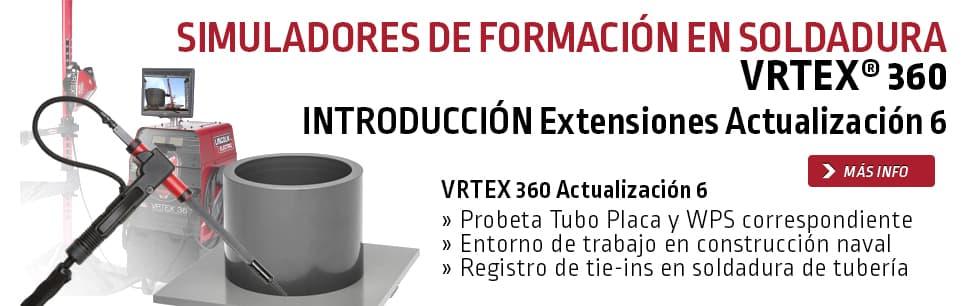 VRTEX 360 Actualización 6