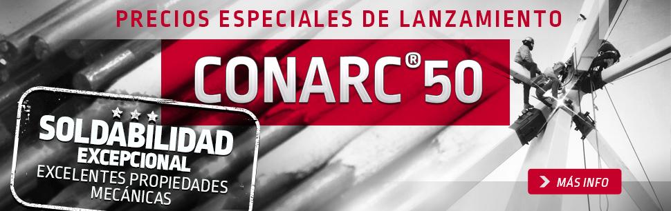 Precios especiales de lanzamiento, Conarc 50