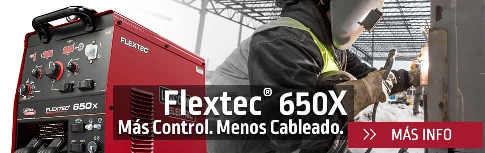 Flextec 650X: más control, menos cableado