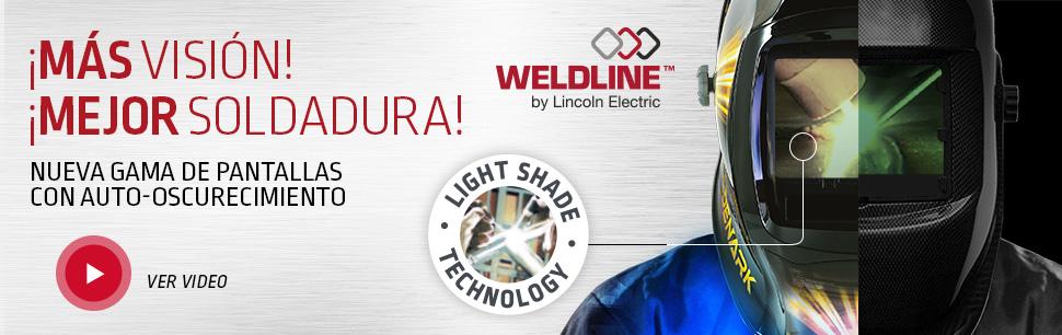Nueva gama de pantallas con auto-oscurecimiento Light Shade Technology