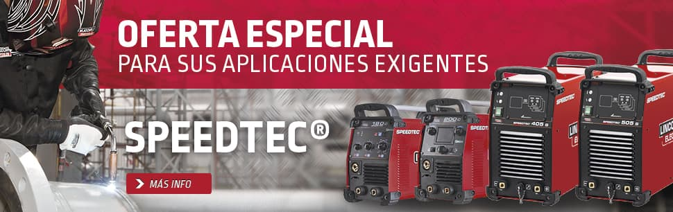 Speedtec: oferta especial para sus aplicaciones exigentes