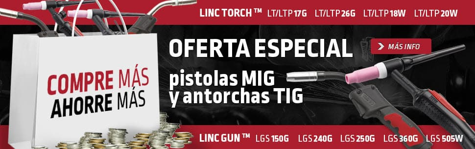 Oferta especial pistolas y antorchas