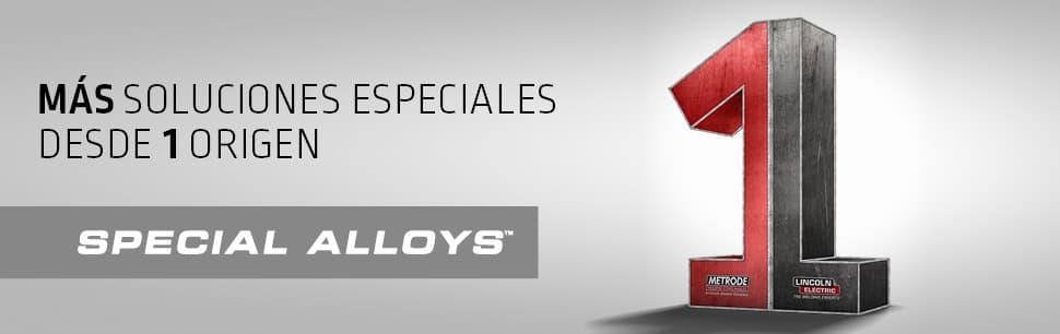 Special Alloys: Más soluciones especiales desde 1 origen