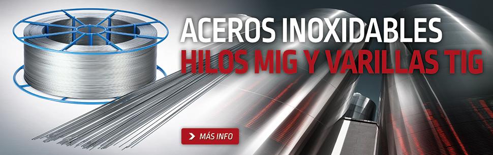 Hilos MIG inoxidables de alta calidad fabricados por Lincoln Electric en Europa