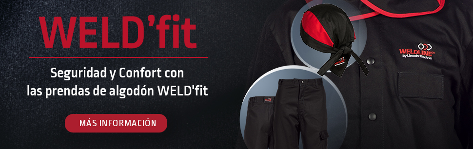 Weldline: your safety in the WELD'fit cotton clothes