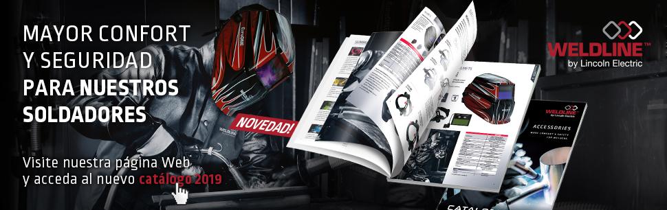 Descubra nuestra oferta de productos de calidad y descargue el nuevo catálogo Weldline