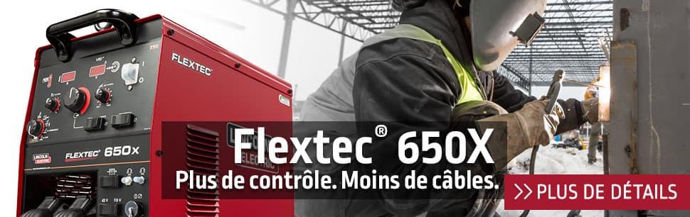 Flextec 650X: plus de contrôle, moins de câbles