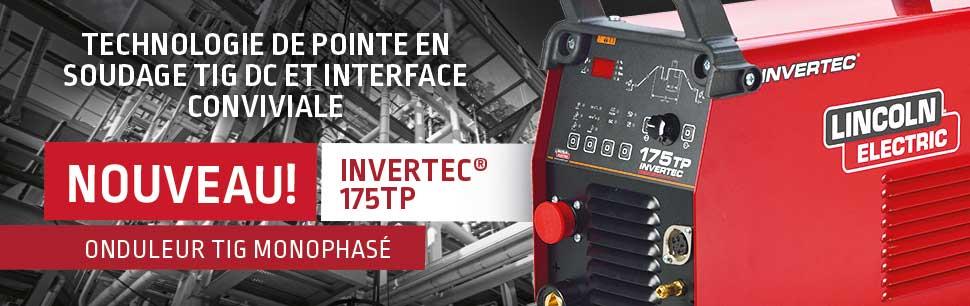 Invertec 175TP:   Onduleur TIG monophasé