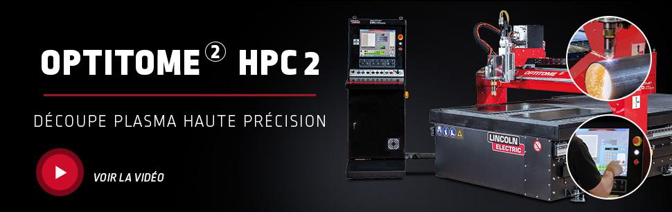 OPTITOME 2 HPC 2 Découpe plasma haute précision