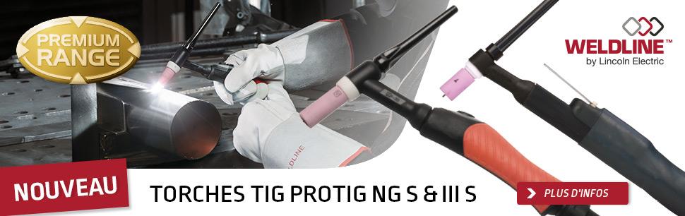 Torches TIG PROTIG NG S & III S