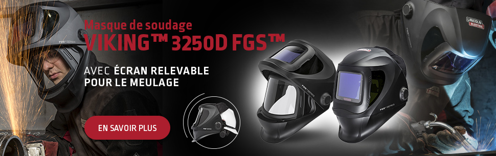 Viking 3250D FGS Welding Helmet with 4C Lens Technology