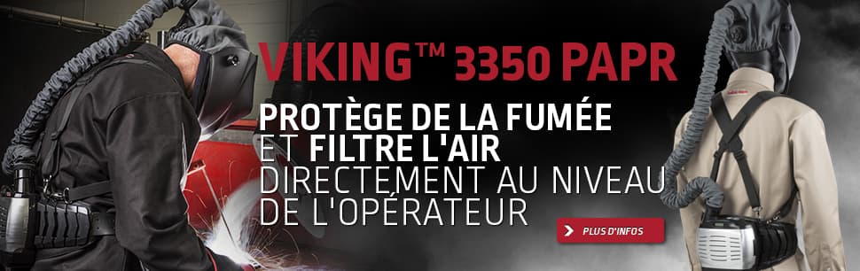 MASQUE DE SOUDAGE VIKING™ 3350 PAPR