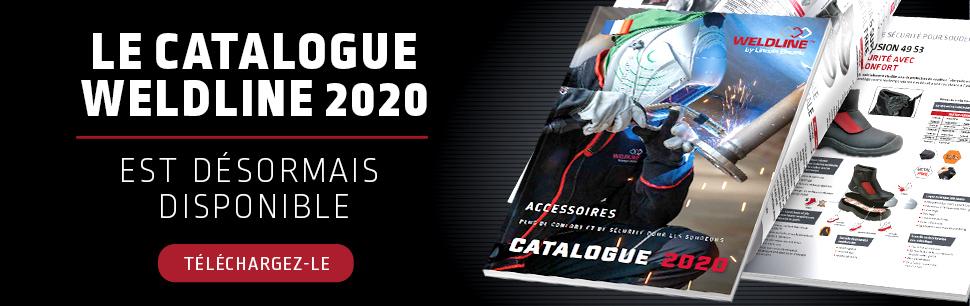 Edition du nouveau Catalogue Weldline 2020