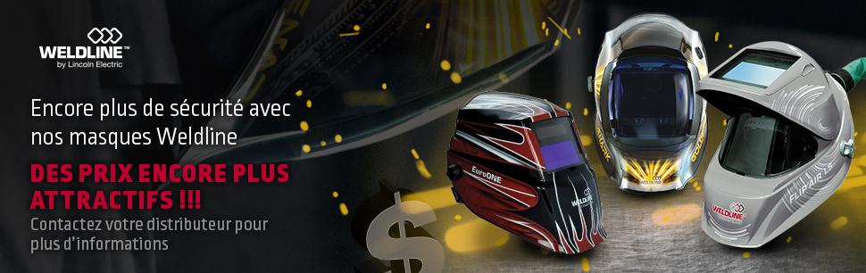 Weldline helmets promotion