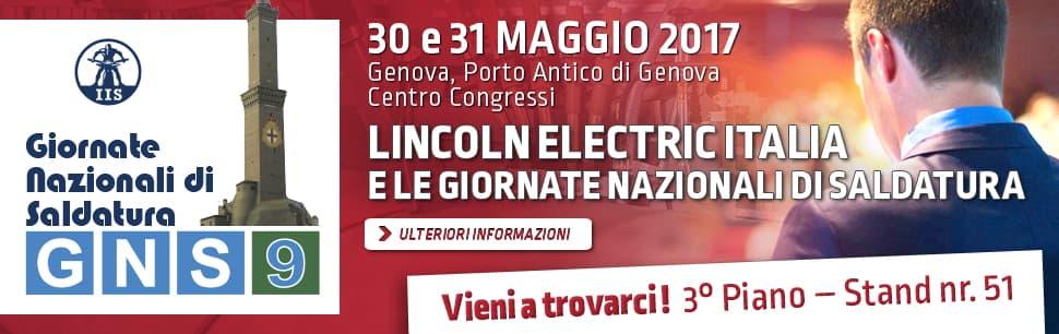 Lincoln Electric Italia e le Giornate Nazionali di Saldatura