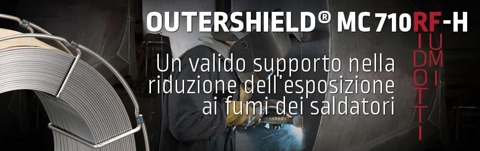 Outershield MC710RF-H: un valido supporto nella riduzione dell'esposizione ai fumi dei saldatori