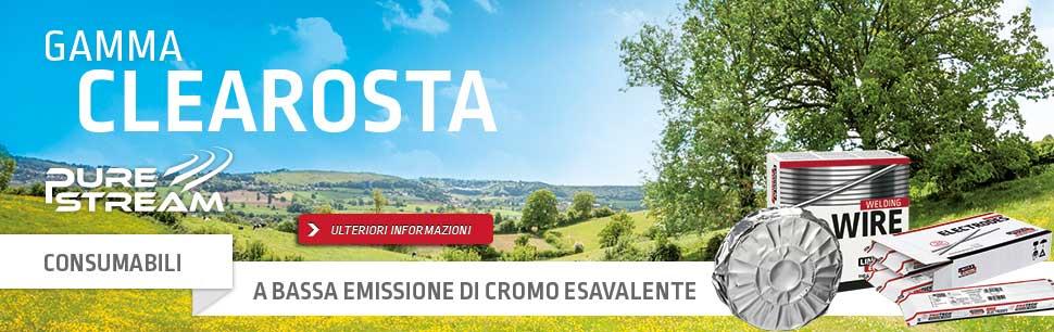 Gamma Clearosta: Consumabili a bassa emissione di Cromo Esavalente