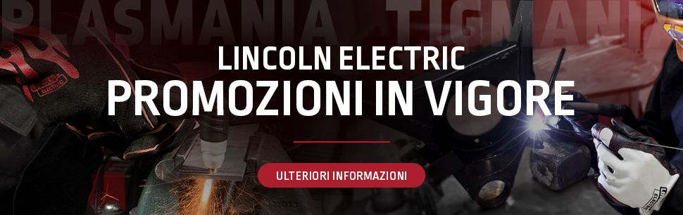 Current promotions from Lincoln Electric