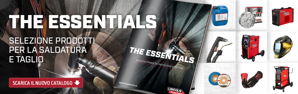 The Essentials Il Catalogo Lincoln Electric