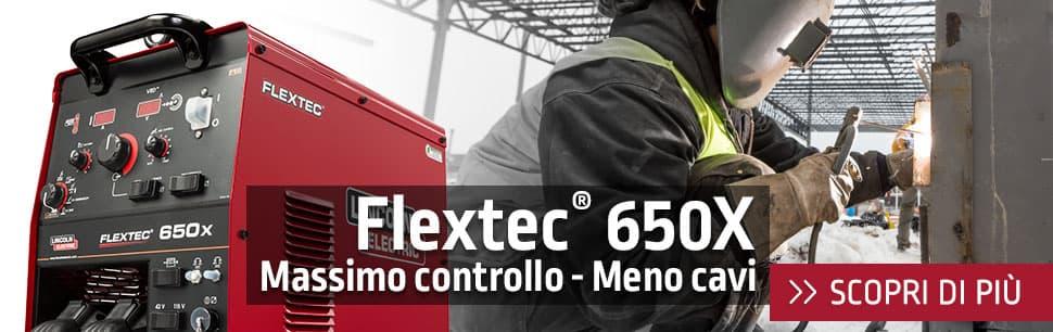 Flextec 650X: massimo controllo - meno cavi