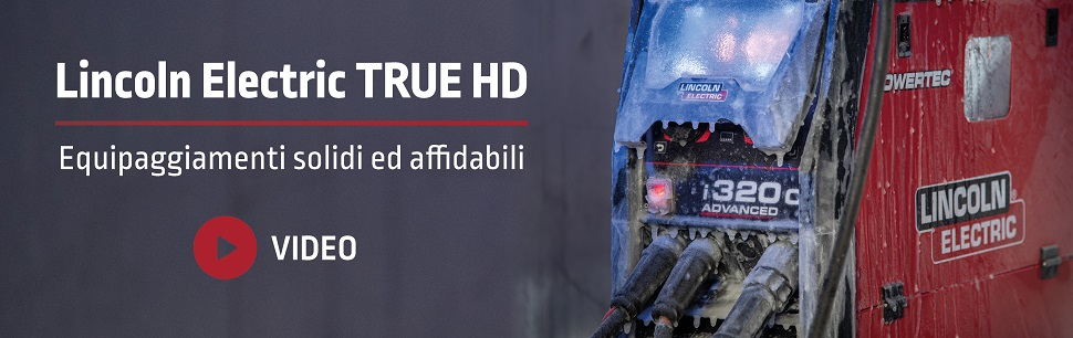 Lincoln Electric True HD equipment