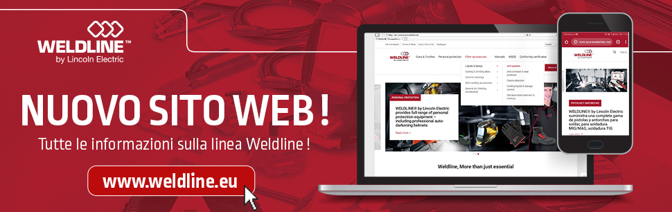 New www.weldline.eu website