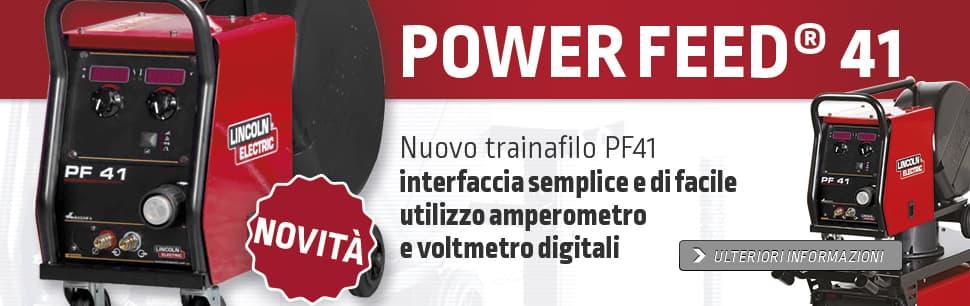 Nuovo trainafilo PF41