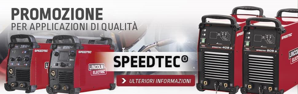 Promozione: Speedtec per applicazioni di qualità