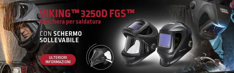Viking 3250D FGS Welding Helmet with 4C Lens Technology